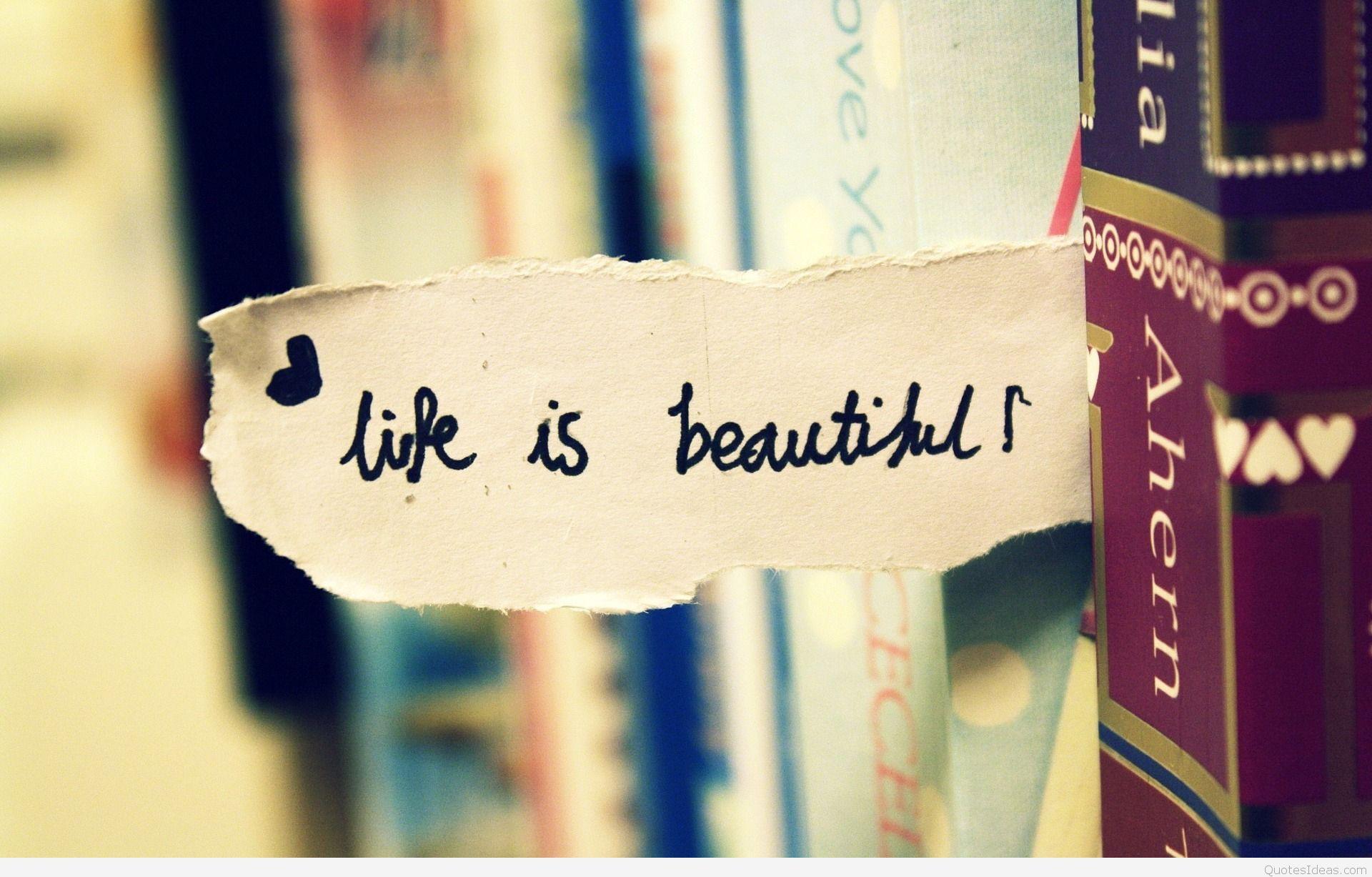زندگی زیباست لذت ببرید