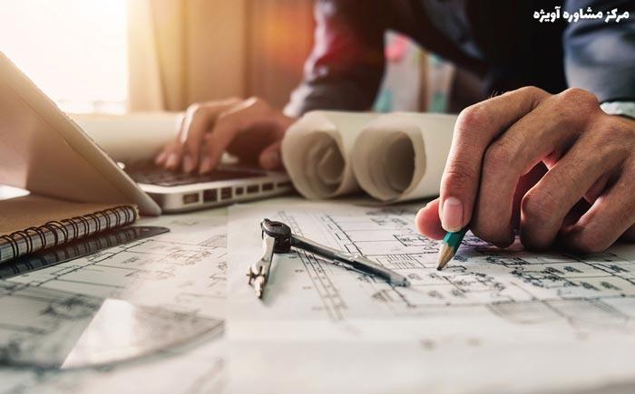 چارت درسی کاردانی فنی معماری – معماری شهری