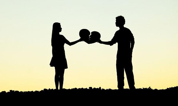 پایان رابطه عشقی