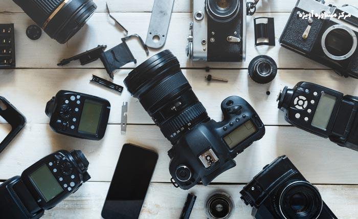 دوربین عکاسی در رشته عکاسی
