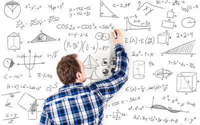 خواندن درس ریاضی