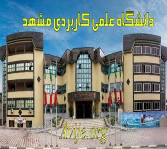دانشگاه علمی کاربردی مشهد