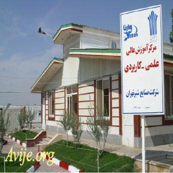 علمی کاربردی شرکت صنایع شیر تهران شهداد