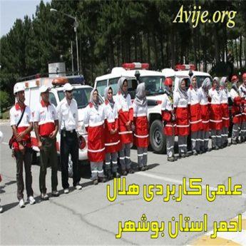 علمی کاربردی هلال احمر استان بوشهر