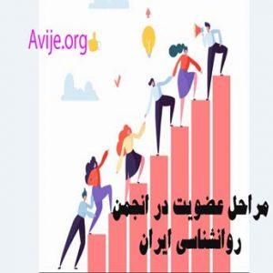 نحوه عضویت در انجمن روانشناسی ایران