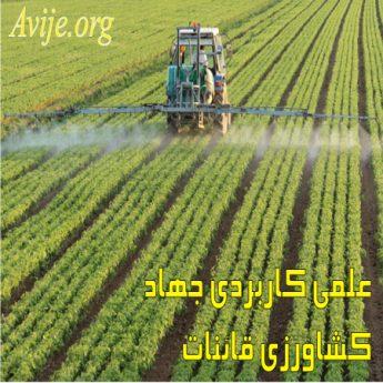علمی کاربردی جهاد کشاورزی قائنات