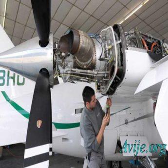 رشته تعمیر و نگهداری هواپیما علمی کاربردی بدون کنکور