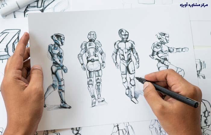 مدارک لازم برای ثبت نام رشته انیمیشن علمی کاربردی بدون کنکور کاردانی