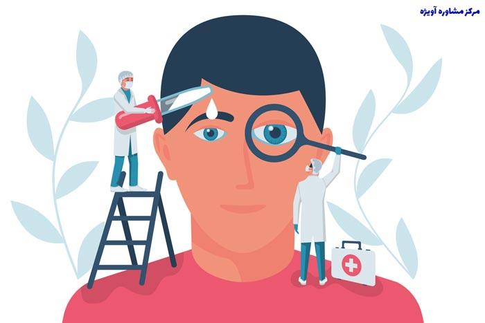 لیست بیماری های معافیت پزشکی چشم و عوارض بینایی