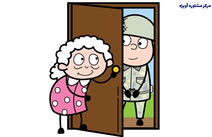 مدارک لازم در بخش اولیه دریافت معافیت های کفالت سربازی مادر خدمت وظیفه: