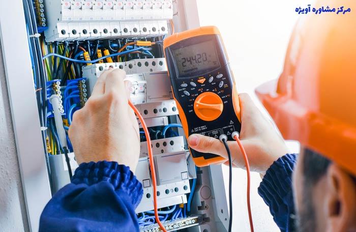 گرایش های مقطع لیسانس رشته مهندسی برق