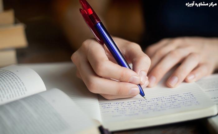 نوشتن مطالب از حفظ