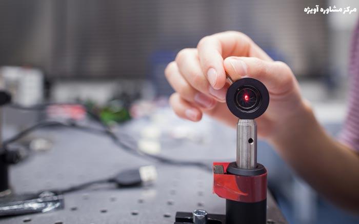 رشته مهندسی اپتیک و لیزر بدون کنکور