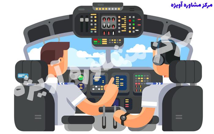 شرایط پزشکی لازم برای خلبانی