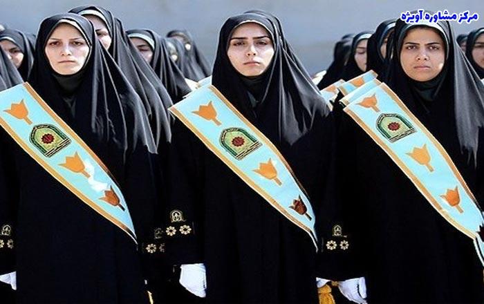 زمان ثبت نام افسران پلیس زن در نیروی انتظامی